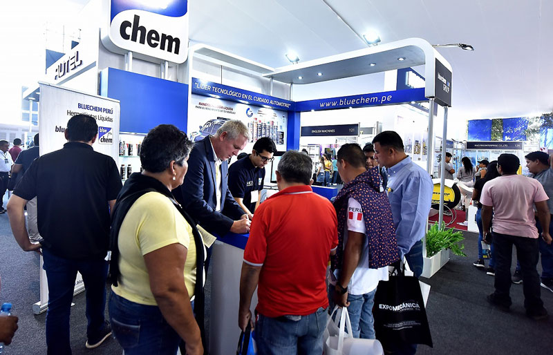 Grupo Target SAC Feria Expomecanica Perú